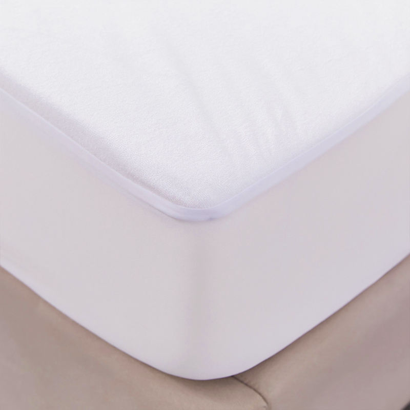 Premium Terry Cotton Fabric Hypoallergenic Waterproof Mattress Protector