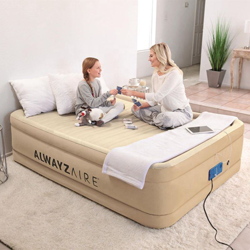 Bedroom Furniture Auto Pump Living Room Airbeds Inflatable Bed Queen Air beds Electric Pump