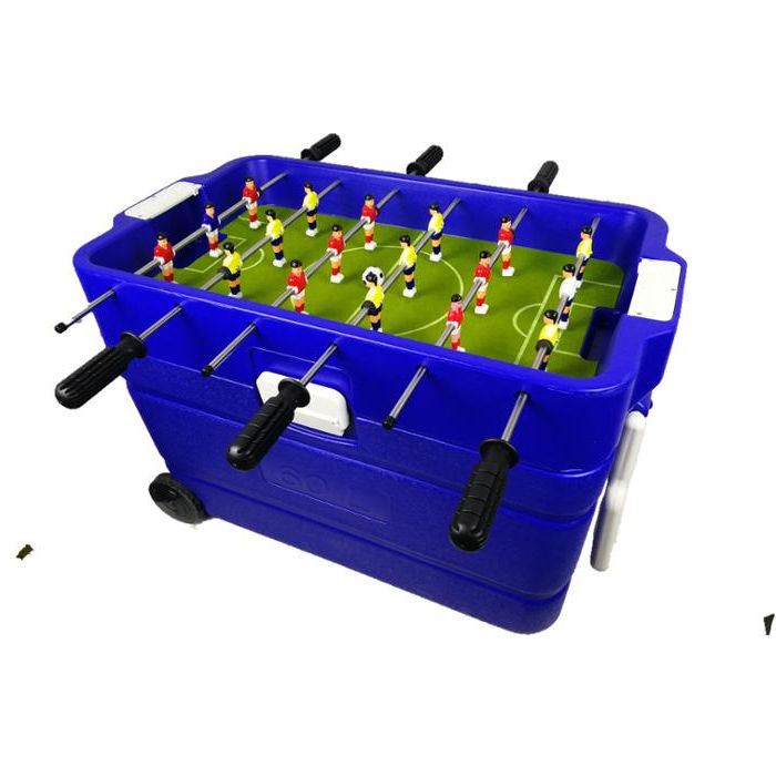 Cooler box Soccer Table/desk football game/Mini football game table
