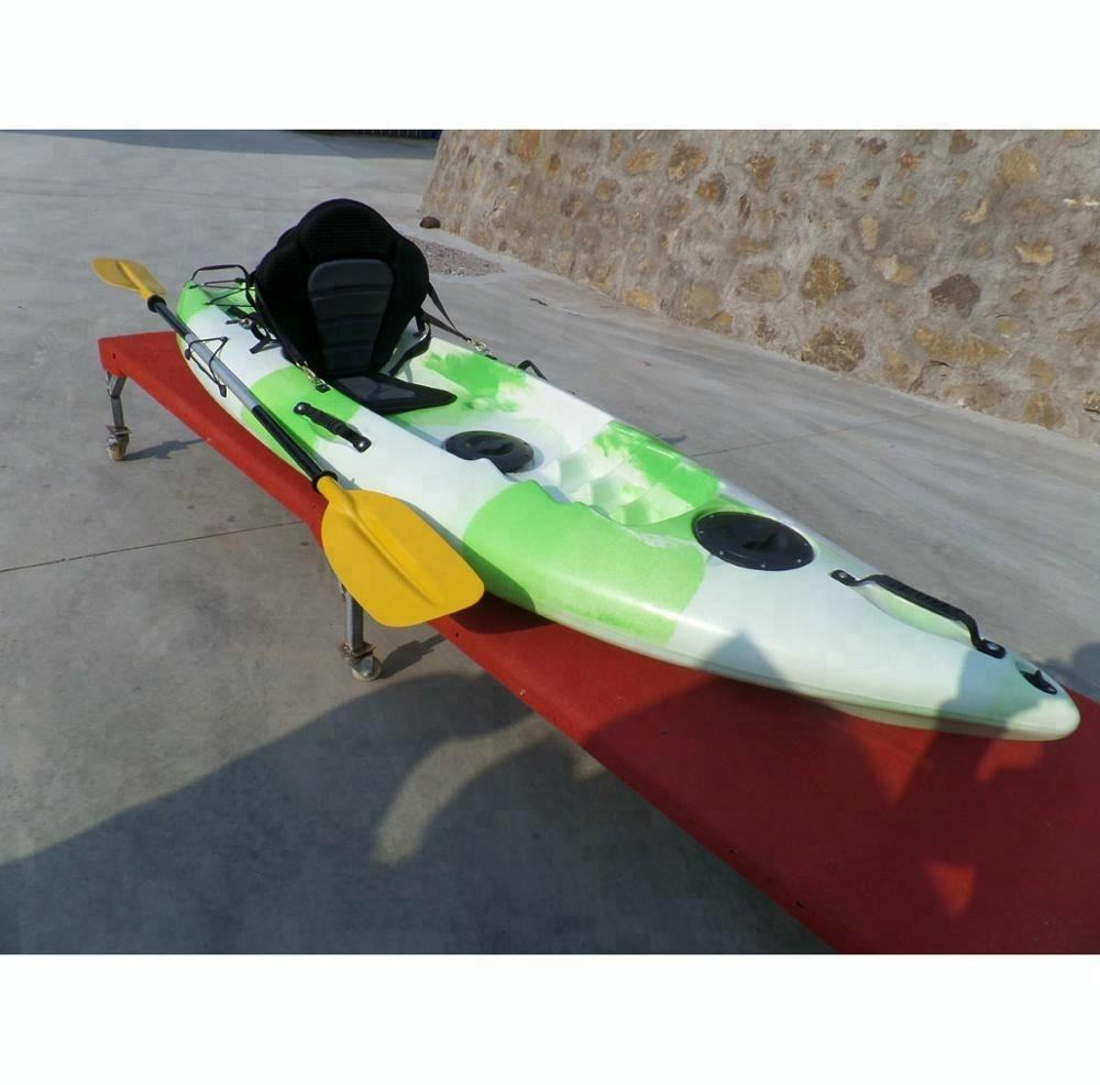 high quality UV resistant one person fishing kayak one person sea kayak sit on top kayak