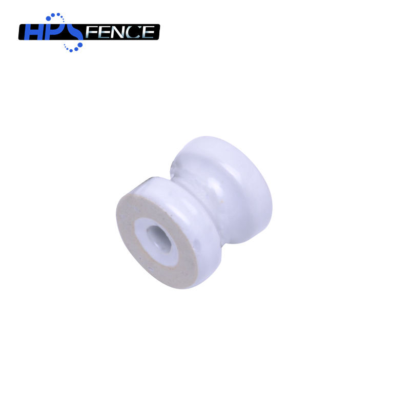 Made In China Ceramic Insulator Electric Fence Porcelain Shackle Insulator For Wire