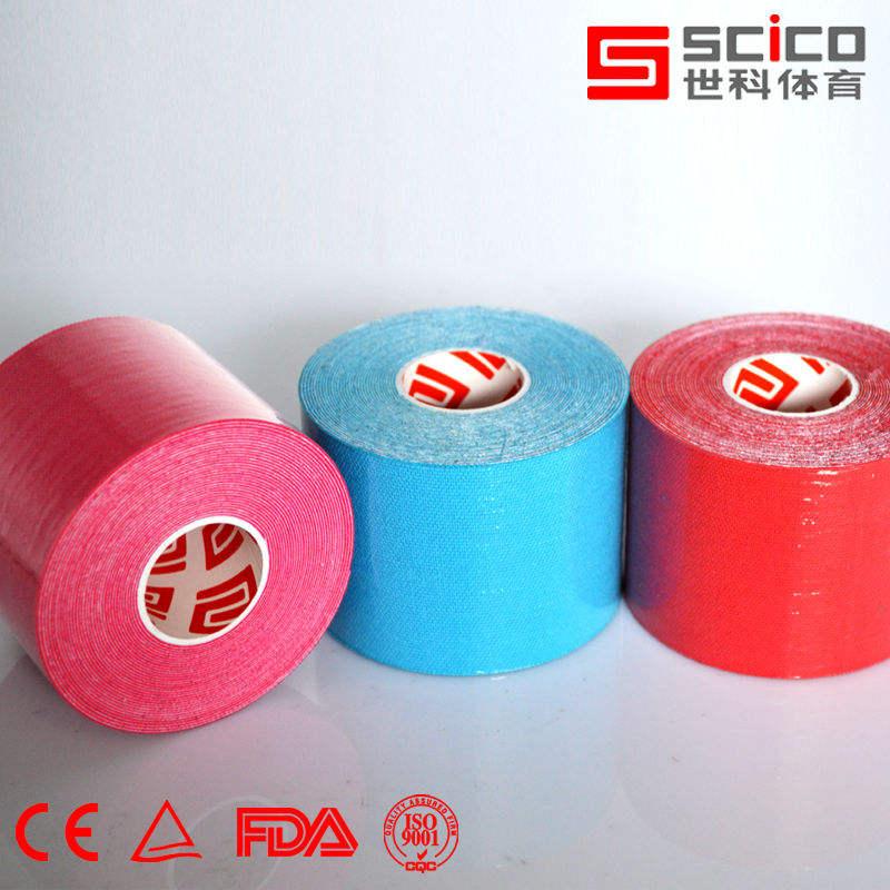 5m х 5см розничной пакет хлопка ленты kinesio терапии спорт ленты, 11 цвет выбрать