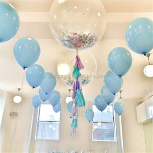 36 inch beautiful giant confetti balloons with china factory price