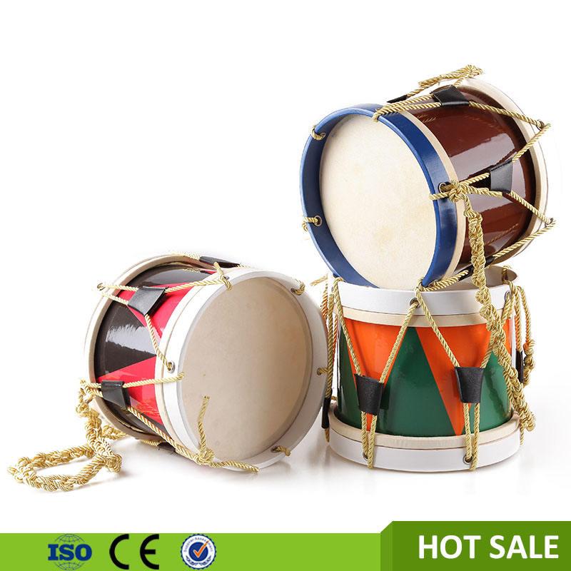 Crianças brinquedos do bebê <span class=keywords><strong>de</strong></span> <span class=keywords><strong>madeira</strong></span> instrumento <span class=keywords><strong>de</strong></span> percussão marching snare drum