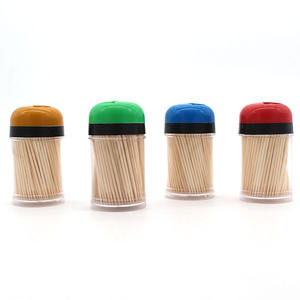 Natural Color A+Grade YIEN Factory Wholesale Packing Wooden Bamboo Toothpick