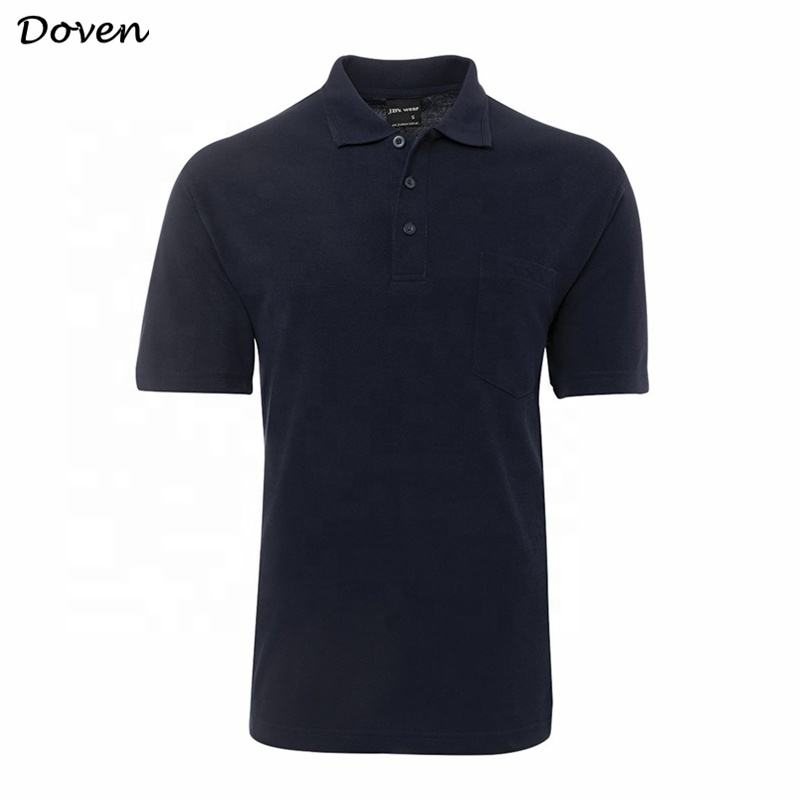 OEM service mens clothing classic black polo t shirt
