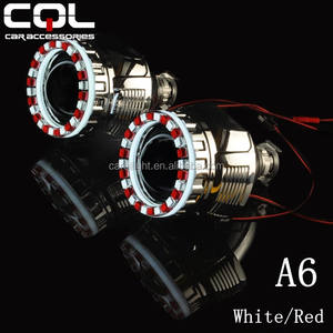 3D kristall engel augen, 85mm 100mm universal angel eyes, H1 H7 hid projektor angel eyes ring