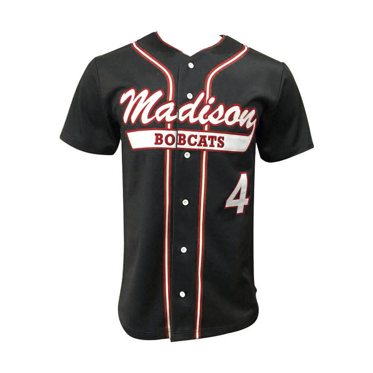 Jeugd Mens Strip <span class=keywords><strong>Baseball</strong></span> Uniformen Custom Gesublimeerd Borduren Gestikt Honkbal Jersey