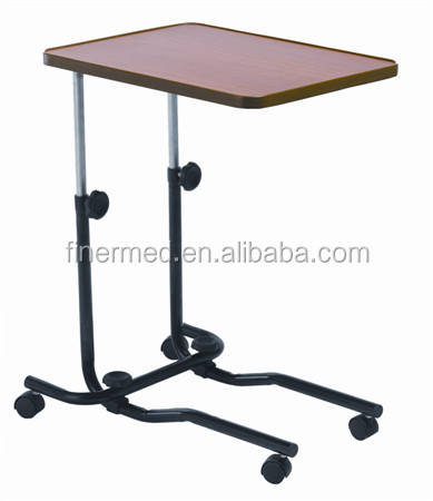Movable Adjustable Folding Overbed Table