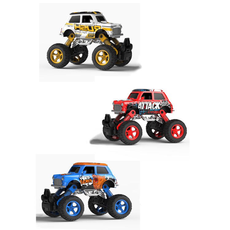 1 36 scale Alloy Pull Back Cars Climbing Cars Toys with Big Tire Wheel for 3-14 Year Old Kids Creative Birthday Gifts for Boys