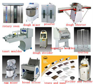 complete cake/bread /loaf/toast/french bread/bagguette bakery equipment  manufacturer