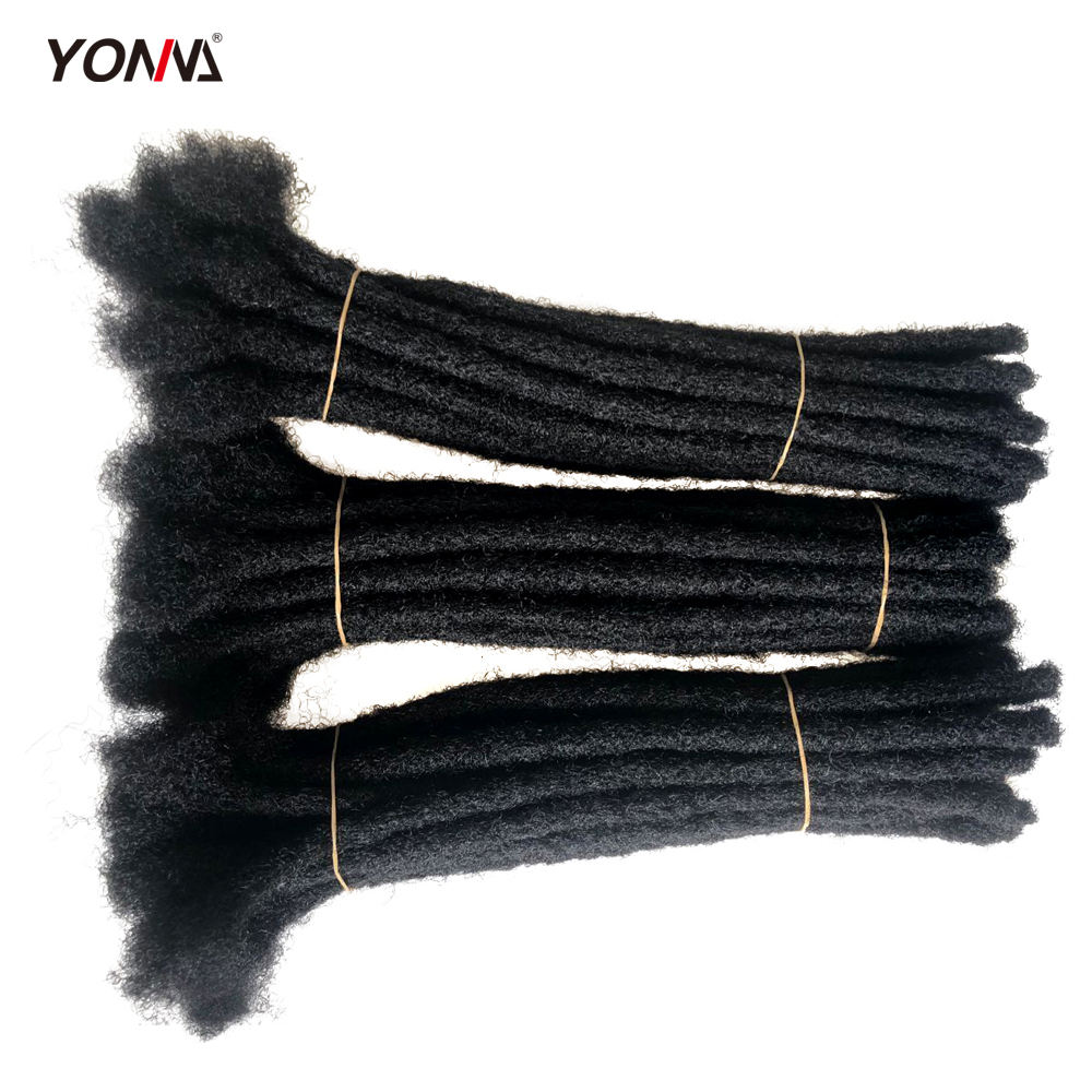 Wholesale indian hair arfo kinky human hair twist braid havana mambo faux locs crochet braid