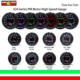 2 Inch 52mm LED Display 7 Color High Speed PM Motor Gauge Stepper Motor Gauge