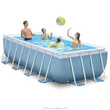 Summer hot sale frame swimming pools for sale,best metal frame swimming pool,above ground metal frame swimming pool for sales