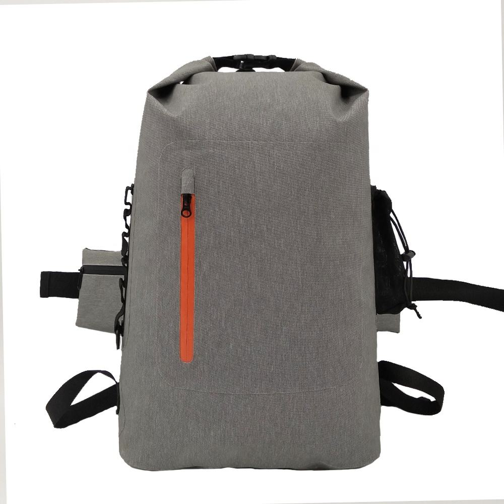 Outdoor Roll Top Tpu 600D Camping Kajakken Kanoën Survival Kit Bag Waterdichte 20L 30L Dry Bag Rugzak