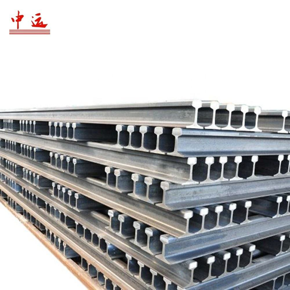 Railroad Steel Rail Sales QU70 QU80 QU100 QU120 Crane Rail Steel Rail