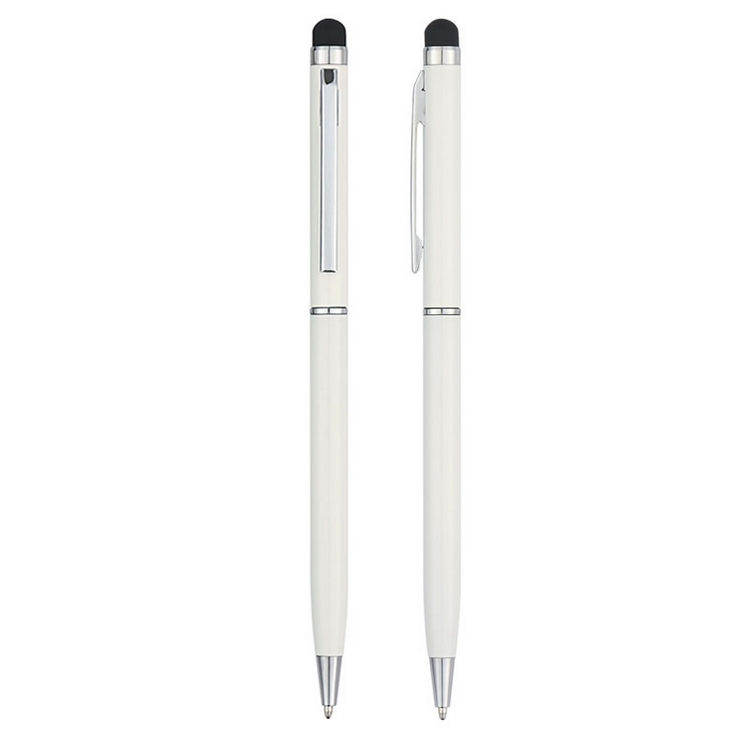 Customized Metal Slim Twist Hotel Stylus Pen