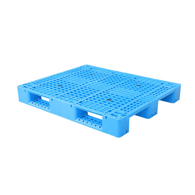 HDPE steel reinforced 4 way warehouse food grade heavy duty racking plastic pallet