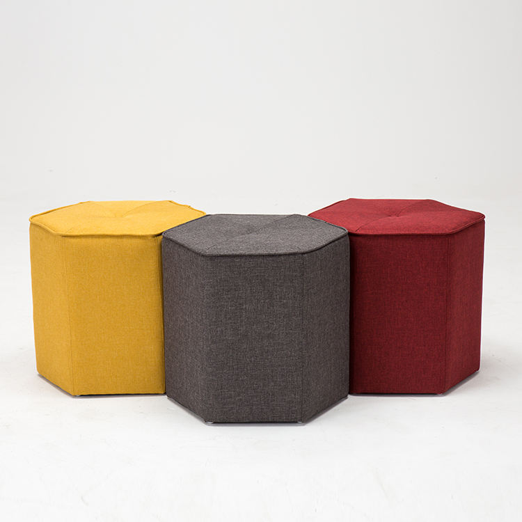 Stool Wooden Counter Pouf Velvet Shoe Home Good Vintage Fabric Modern Bed Cane Puff Seating Ottoman