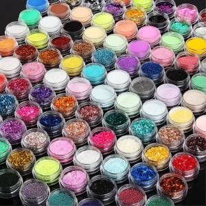 bulk 200 colors metallic glitter powder polyester glitter 1kg