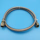 High pressure sae 100 flexible PTFE fuel oil hose assembly