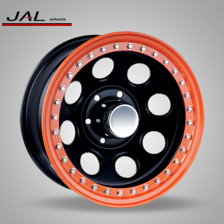 Factory Supply 15x10inch Beadlock Steel Rim Wheel for Off Road Car