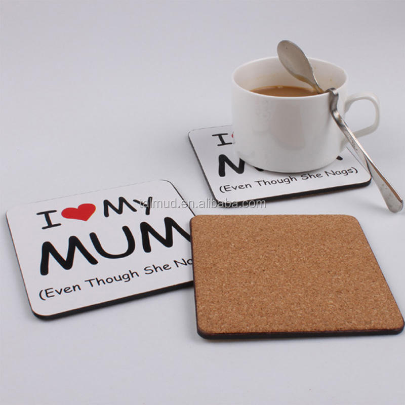 promotional cork board coffee cup coaster
