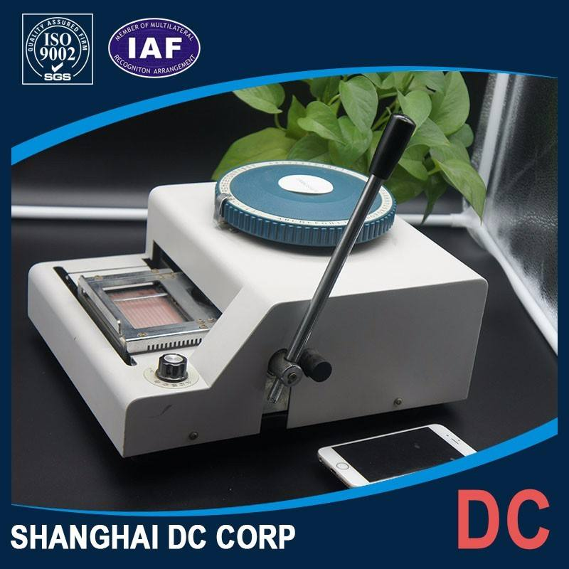 China Hot Sale Quantity Production Embossing Stamping Machine