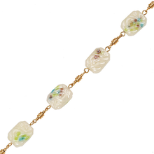42491 necklace fashion accessories 18k delicate  elegant jade bead gold plated jewelry necklace