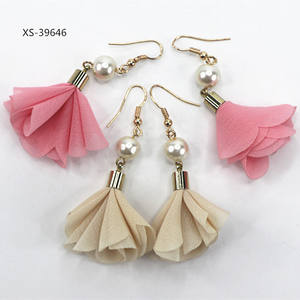 Fashion Earring Designs New Model Earrings Dubai Pure Gold Jewelry Pearl Earring