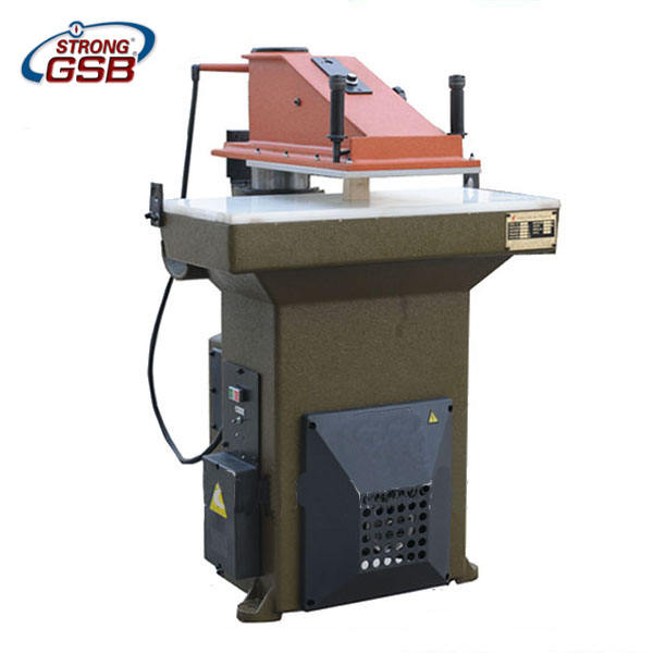 27T clicker, leather cutting press