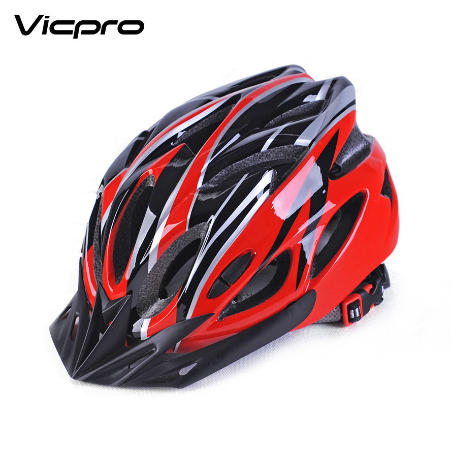 Bicycle helmet with visor adjustable system optional mountain bike helmets for adults