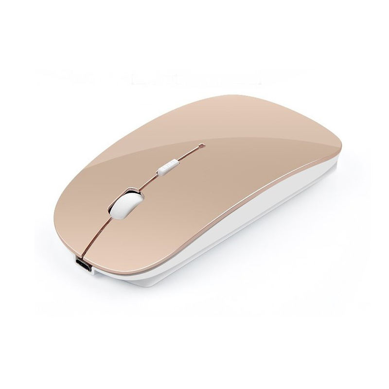 Oempromo custom logo 2.4ghz rechargeable wireless mouse