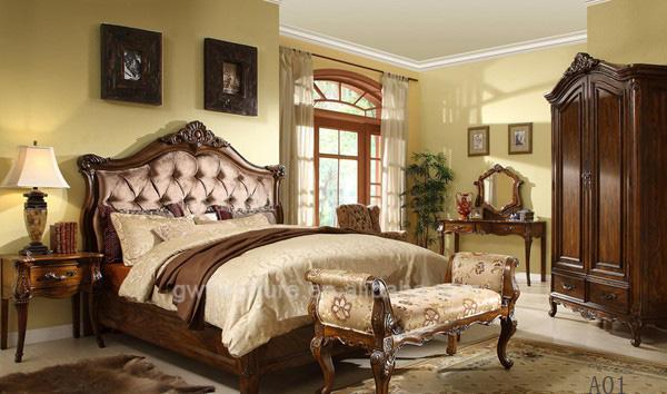 hermosos muebles de dormitorio antiguo