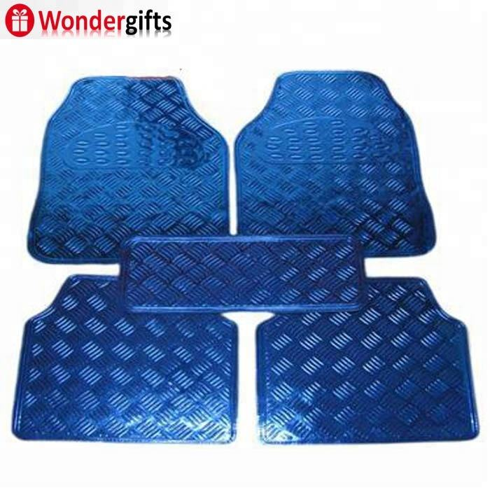PVC car mat in full set 4pcs full set car floor mats