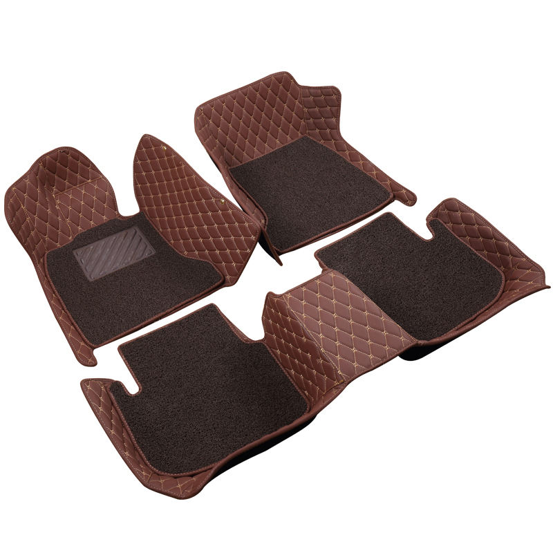 Elantra AD sonata8 sonata9 Azera tucson I20 I30 I40 IX25 most popular 3pc single car floor mat 5d 3d car mats