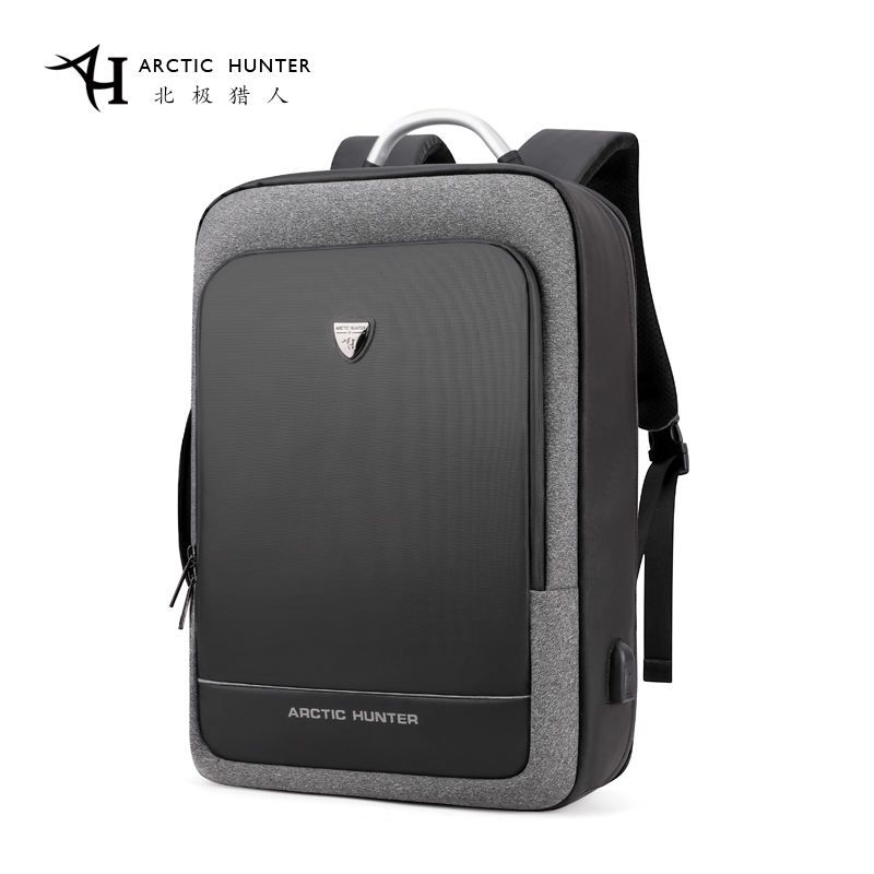 ARCTIC HUNTER USB Backpack Male Multifunction Portable Hand Bag/Shoulder Business Travel 15.6/17 inch Laptop Backpack Men Bag