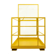 Easy install China brand Safety forklift Safety cage/working platform