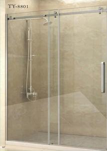 High quality Bathroom Sliding Shower Door with Hardware
