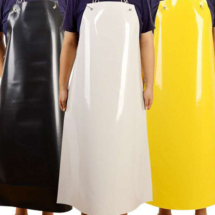 PVC Rubber industrial Apron waterproof oil resistant high quality