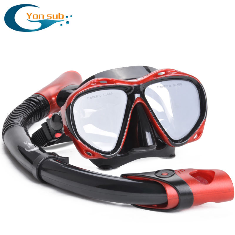 Hot sale scuba swimming & diving snorkel mask set equipment