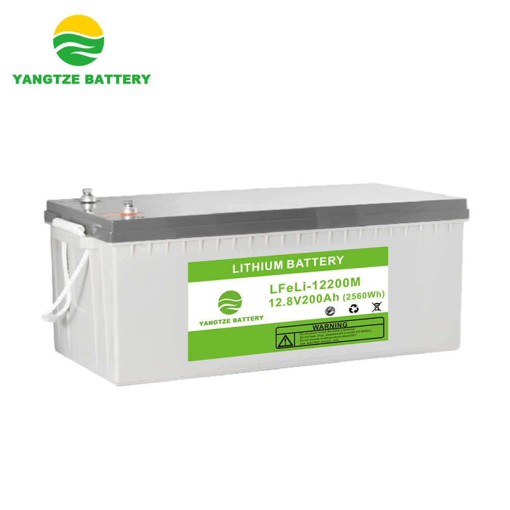 5 years warranty deep cycle 12v 200ah lithium battery pack for solar storage system
