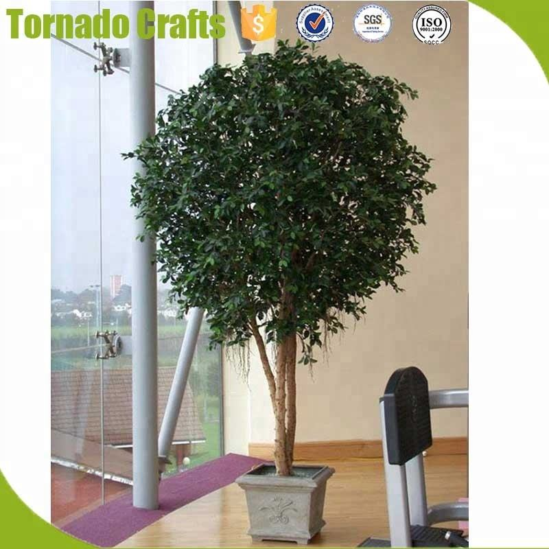 for indoor and outdoor decor Natural look artificial greenery tree banyan tree