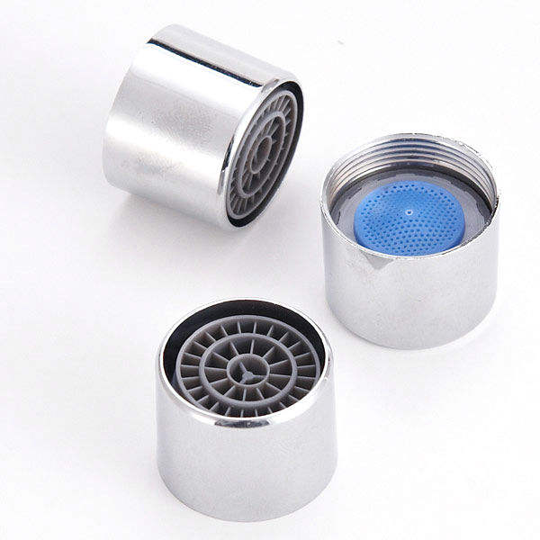 High Quality Water Saving Faucet Aerator, Female and Male Screw, POM Core with Brass Shell