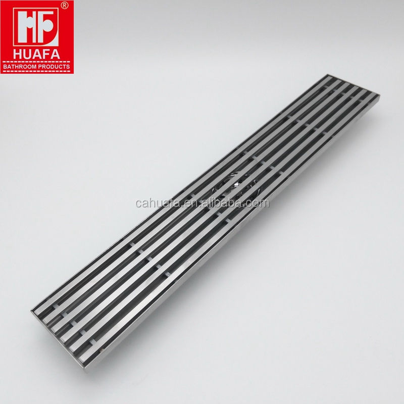 SUS304 600mm Bathroom Linear Shower Drain