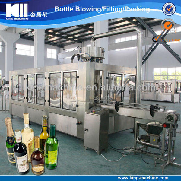 Automatic white spirit filling machine / bottling equipment