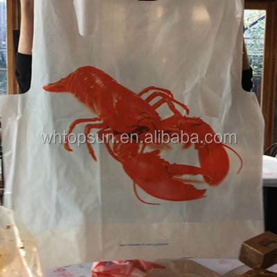 Serve up delicious seafood with minimal mess using the adult poly crab bib