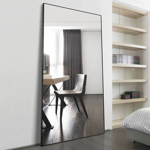 Fashion aluminum Framed floor mirror bedroom full length dressing mirror