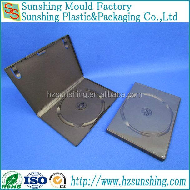 Factory 14mm single black dvd case wholesale in China