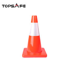 Low price wholesale guaranteed quality flexible traffic cone safety traffic cone